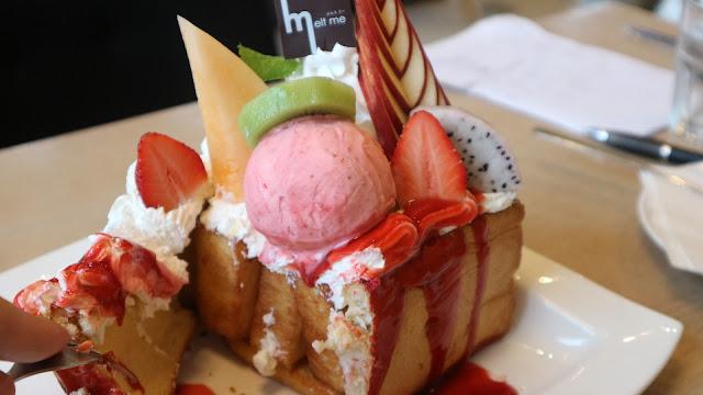 曼谷遊記 餐飲篇: Melt Me: 女生必訪, 打卡神店!