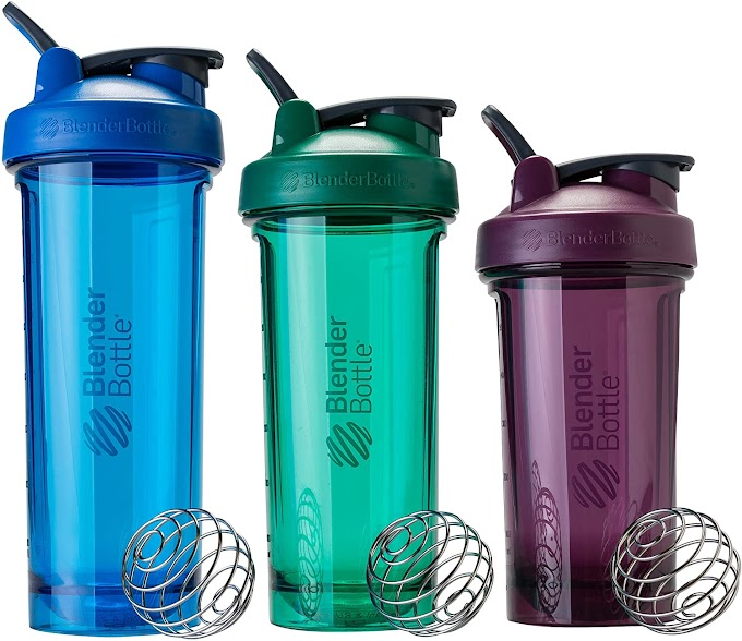 BlenderBottle Shaker Bottle Pro Series Perfect for Protein Shakes and Pre Workout