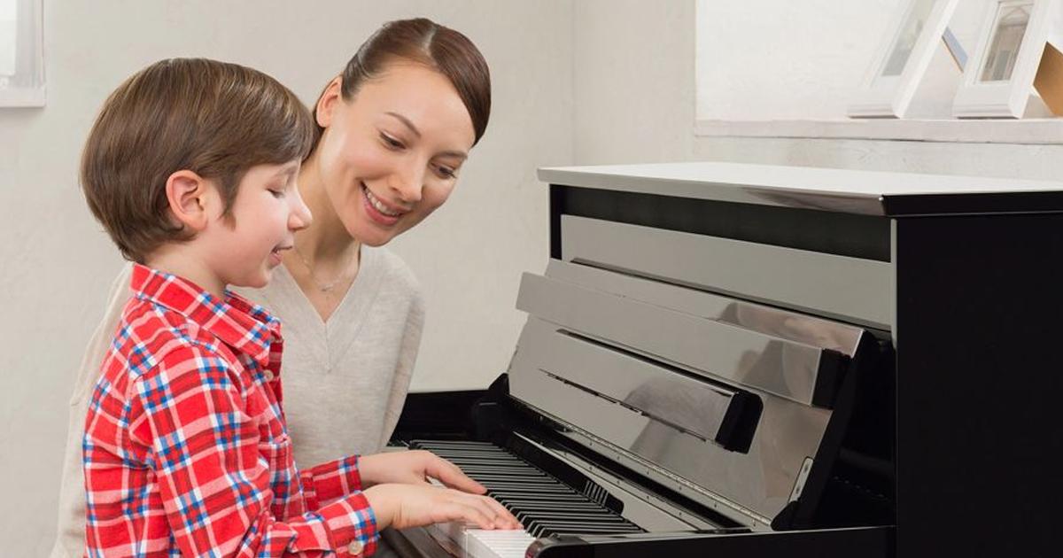học đàn piano cho người mới bắt đầu Hỗ trợ phát triển tư duy