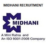 MIDHANI Manager, MT Recruitment 2019