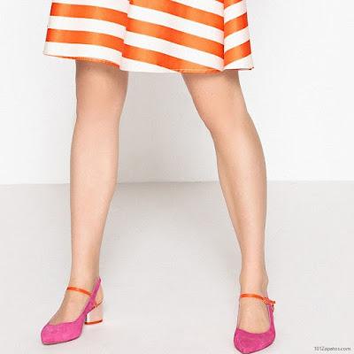Zapatos Fucsia