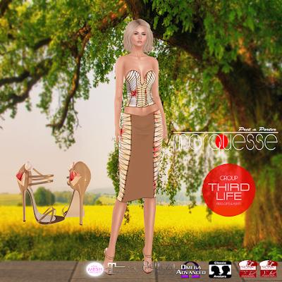 MARQUESSE - FLORA DRESS / THIRDLIFE EXCLUSIVE GIFT
