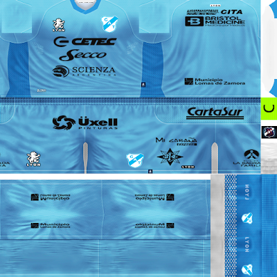PES 6 Kit GDB CA Temperley by JeremySvr Season 2017/2018