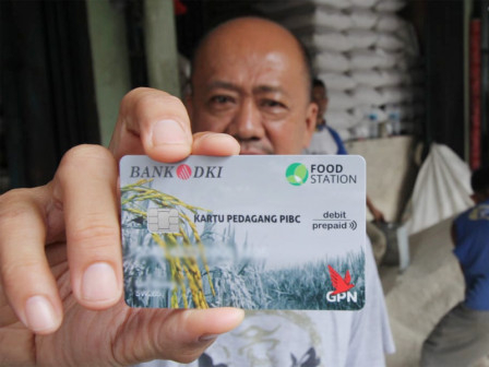 Bank DKI Luncurkan Kartu Bagi Pedagang Pasar Induk Cipinang