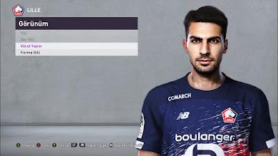 PES 2020 Faces Mehmet Zeki Celik by Furkan6141