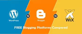 Free Blogging sites and platforms