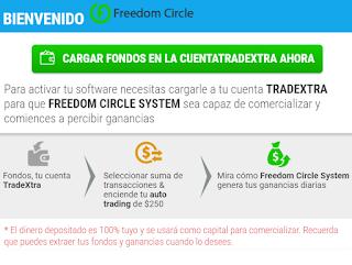 trader freedom circle