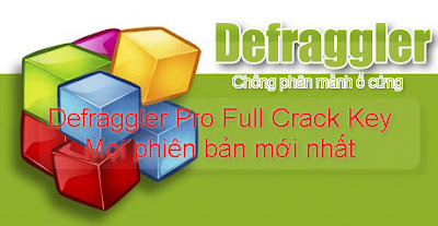 Defraggler Pro Full Key - chống phân mảnh ổ cứng