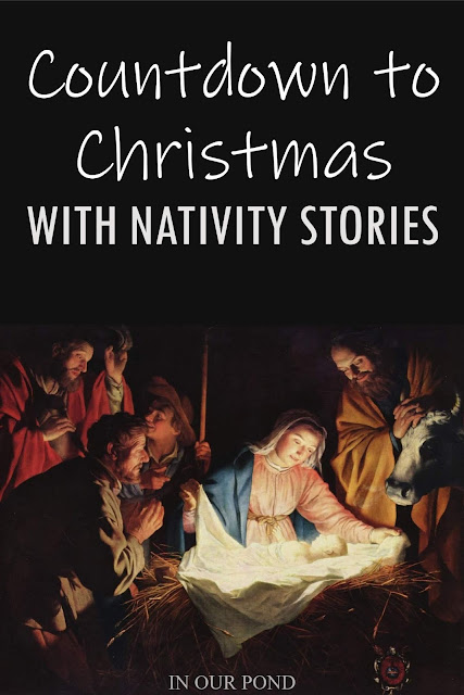 Fun Versions of Your Favorite Holiday Stories // In Our Pond  // Nativity // Christmas Stories // Jesus // Baby Jesus // Countdown to Christmas