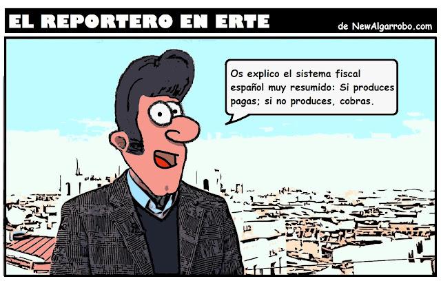 chiste sistema fiscal español