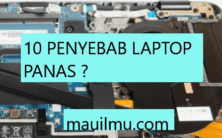 Penyebab laptop blue screen windows 10