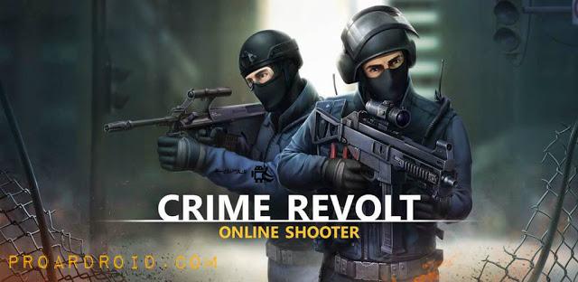 Crime Revolt - Online Shooter النسخة المهكرة