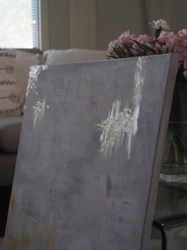 Metallihohtovärit ja lehtikulta maalaamisessa