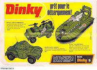 Publicités Dinky Toys