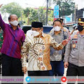 Kunjungan Silaturrahmi, Kapolda Sulsel Dampingi Ketua PBNU ke Gereja Katedral Makassar