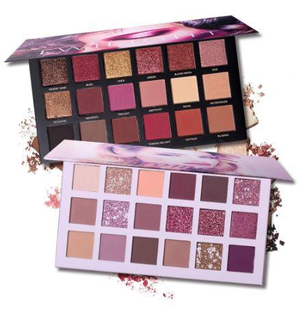 Imitación de paletas de sombras de Twilight y Aromas de Tarte