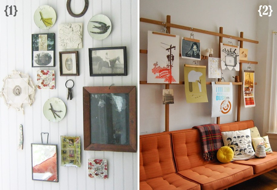 12 ways to create a gallery wall my sister 39 s suitcase packed with creativity. Black Bedroom Furniture Sets. Home Design Ideas