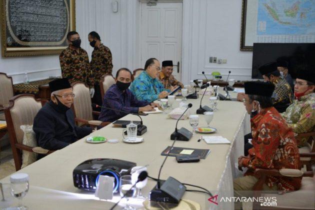 Tolak RUU HIP, MUI dan Pimpinan Ormas Islam Bertemu Wapres