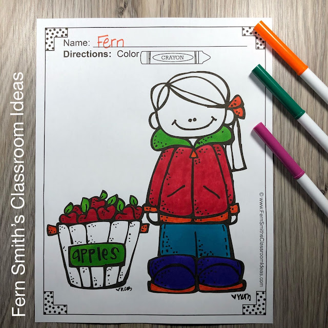 Download this Fall Coloring Pages and Farm Coloring Pages Bundle for Your Students and Personal Children Today!