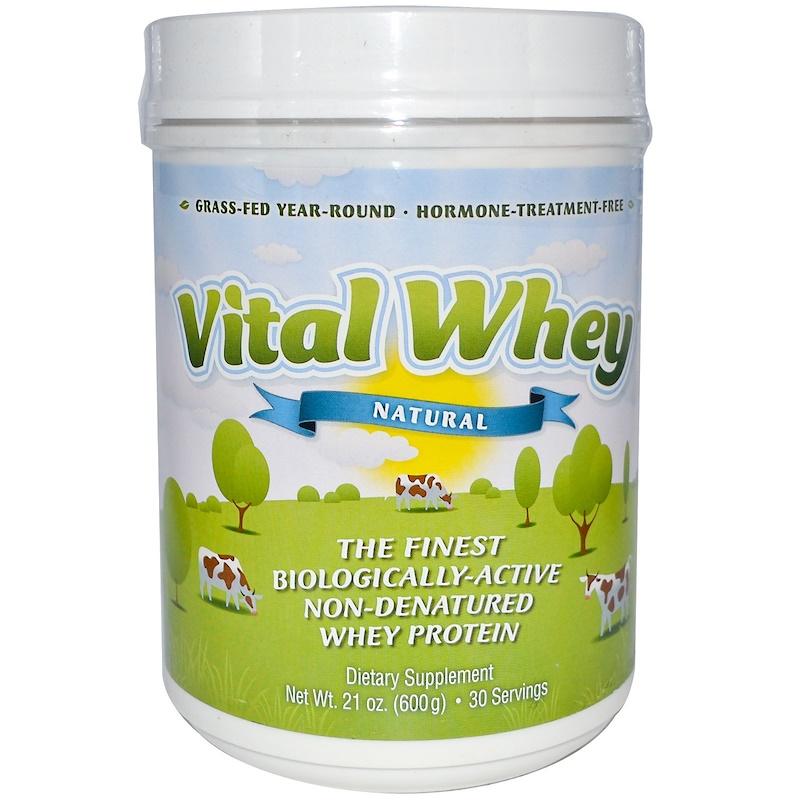 Well Wisdom, Натуральный сывороточный протеин 21 унции (600 г)