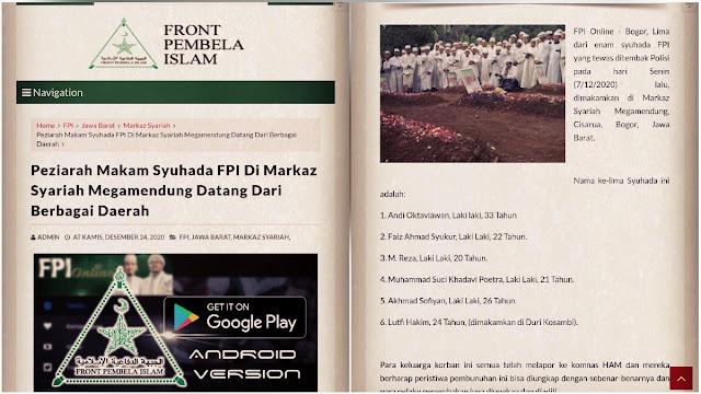 Kominfo Akan Blokir Akun dan Website FPI Setelah Resmi Dilarang
