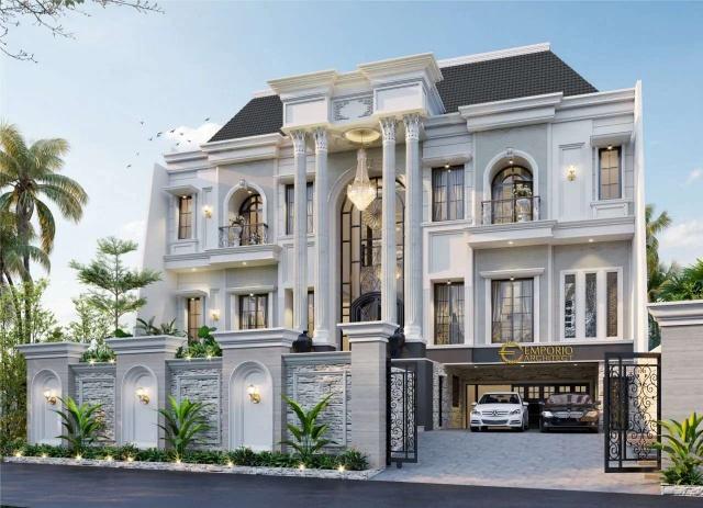 Rumah Classic 3 Lantai