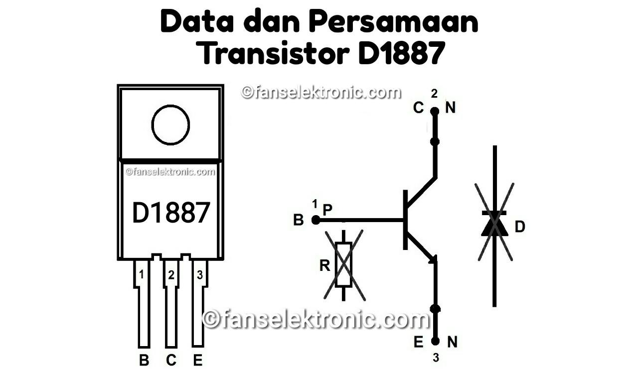 Persamaan Transistor D1887