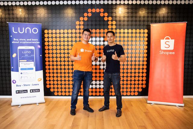 Crypto exchange Luno announces partnership with e-commerce platform Shopee