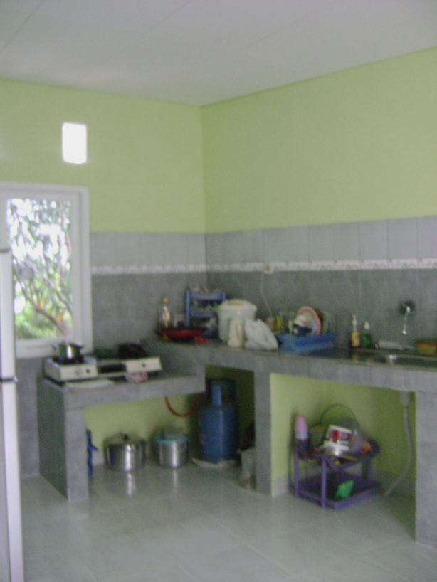 desain dapur sederhana dan modern mungil yang unik info