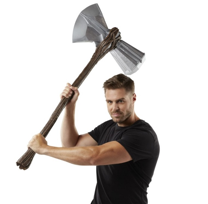 Hasbro Avengers Endgame Thor Stormbreaker For Halloween Cosplay