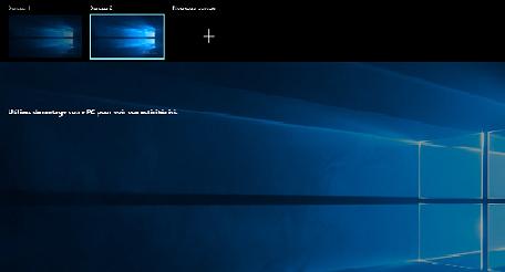إعادة تسمية سطح المكتب الافتراضي في ويندوز 10