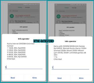 Paket internet Owsem murah