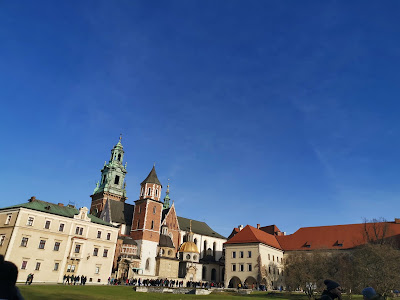 krakow poland Square Wawel Castle