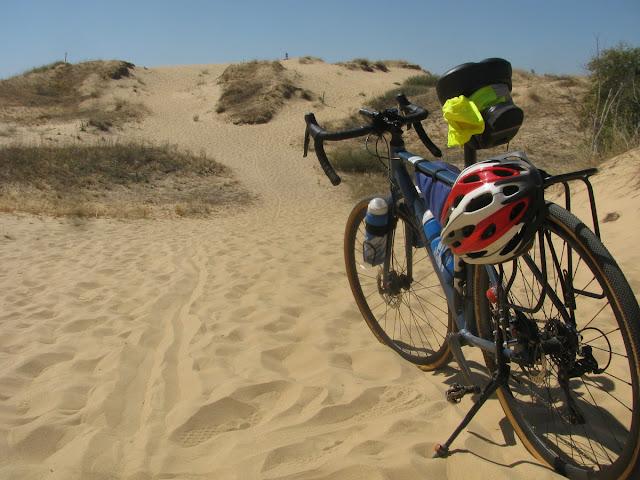 Алешковская пустыня на велосипеде