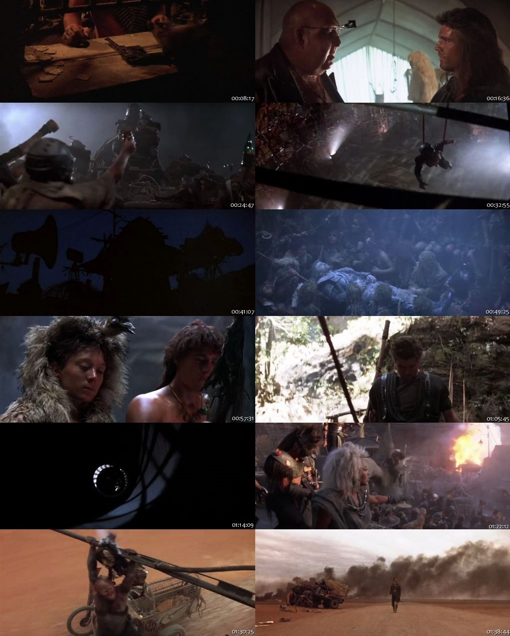 Mad Max Beyond Thunderdome 1985 BRRip 480p 300Mb [Hindi-English]
