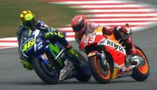 """MotoGP Malaysia 2015: """"Sepang Clash"""" Rossi vs Marquez"""