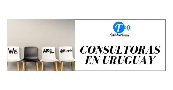 Consultoras en Uruguay. Trabajo en Uruguay