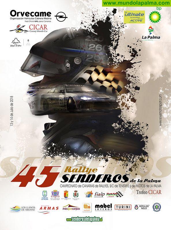 45º Rally Senderos de La Palma - Julio 2018