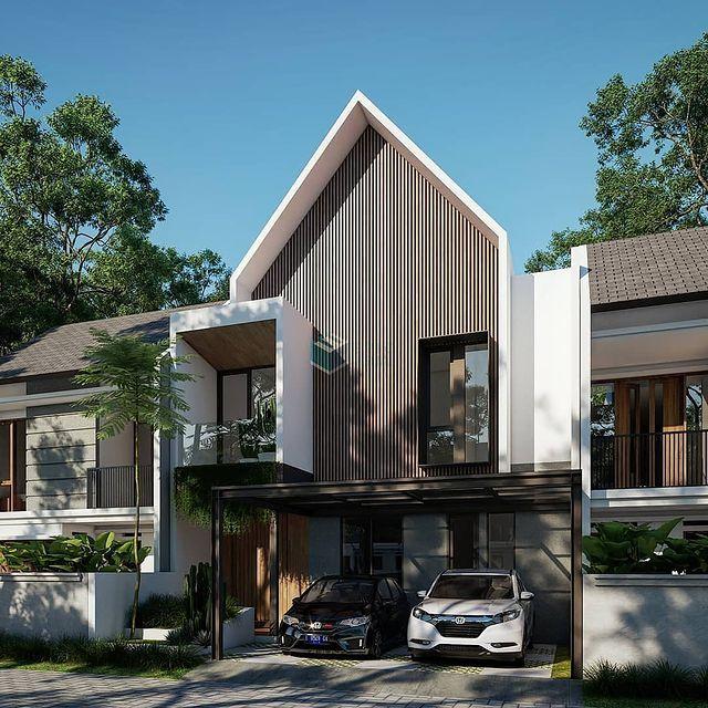 desain rumah minimalis di desa