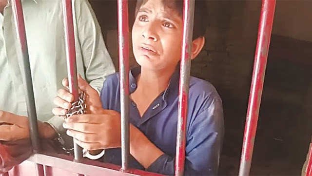 Boy Found Handcuffed As Judge Raids Lock-Up In Larkana