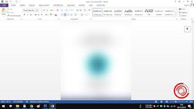 1. Nah langkah pertama untuk merubah dokumen word lewat MS Word yaitu silakan buka dokumen word kalian terlebih dahulu, kemudian pilih File di pojok kiri atas