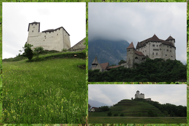 Castle in Balzers, Liechtenstein