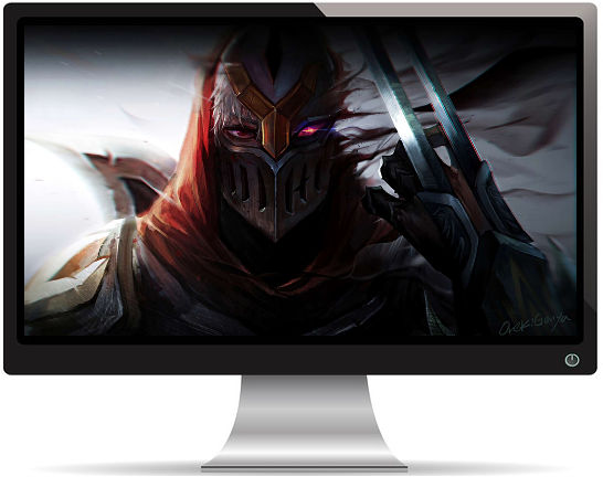 League of Legends - Zed - Fond d'Écran en Full HD 1080p