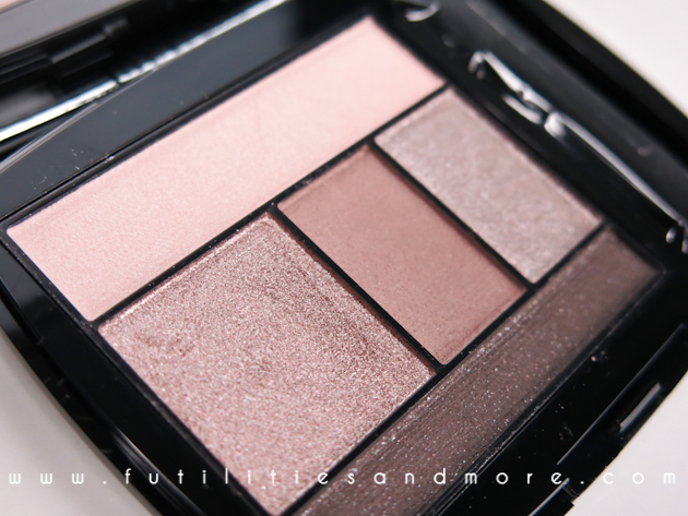 Lancome Color Design Palette: Taupe Craze - Review and Swatches, futilitiesandmore, futilities and more, beauty blog