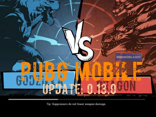 Update Pubg 0.13.0