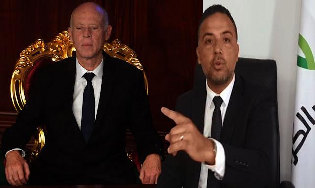 تونس: سيف الدين مخلوف لا يوجد أي فصل في الدستور يسمح لرئيس الجمهورية قيس سعيد بحلّ البرلمان !