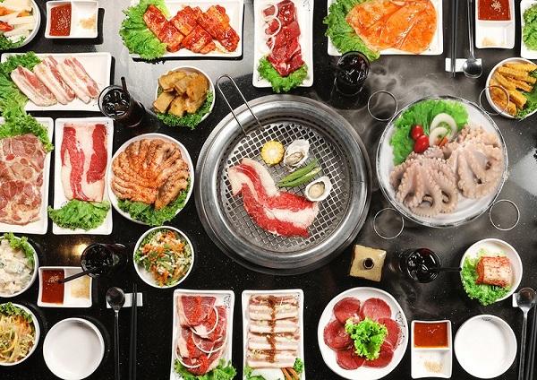 buffet nướng Hàn Quốc