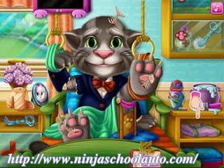 game nuôi mèo