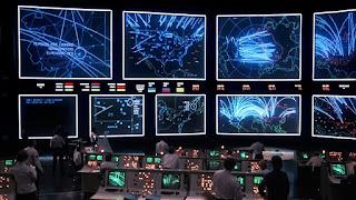 Sala de comando del NORAD en Juegos de guerra
