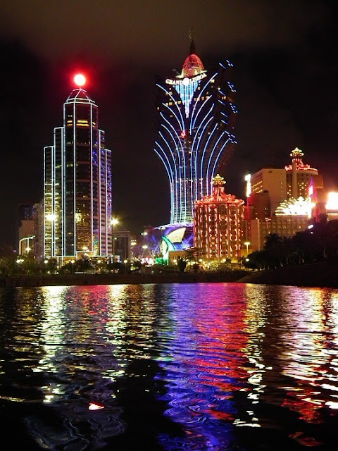 Macau - https://pixabay.com/photos/macau-casino-casinos-at-night-185266/